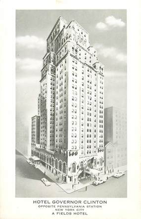 "CPA USA ""New York, Hotel Governor Clinton"""