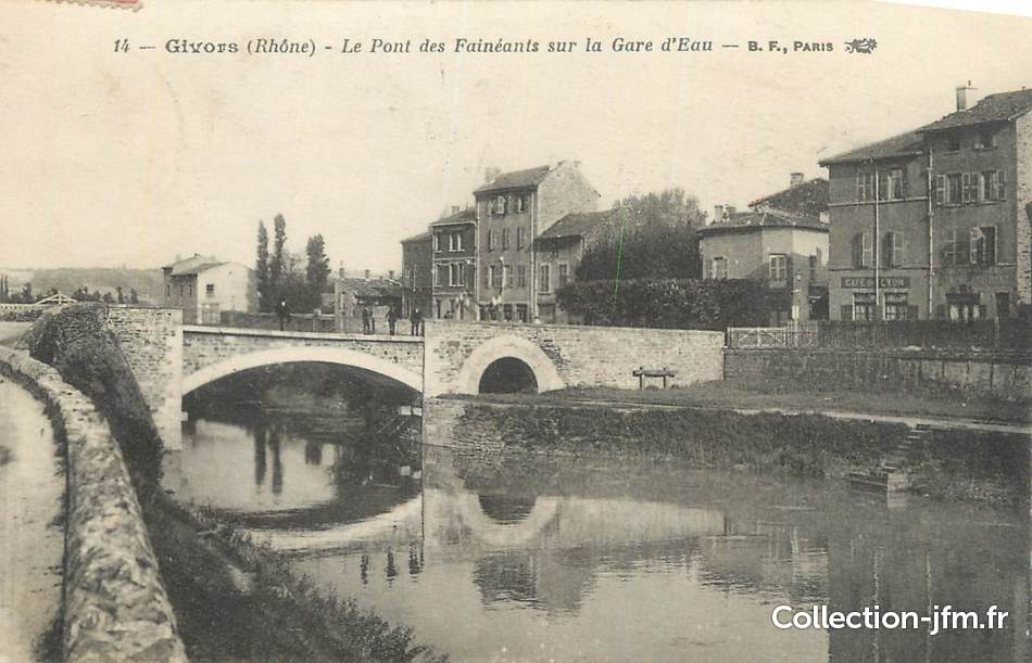 Givors France  City pictures : CPA FRANCE 69