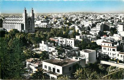 "CPSM MAROC ""Casablanca, la cathédrale"""