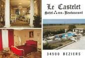 "34 Herault CPSM FRANCE 34 ""Béziers, Hotel Le Castelet"""