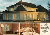 """09 Ariege CPSM FRANCE 09 """" Varilhes, Hôtel Restaurant La Tourane""""."""