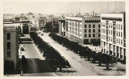 """CPSM MAROC """"Rabat, cours Lyautey"""""""