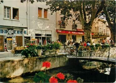 "CPSM FRANCE 30 "" Goudargues, Le canal""."