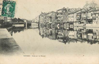 "CPA FRANCE 55 ""Verdun, vu sur la Meuse"""