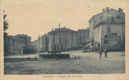 "CPA FRANCE 63 "" Arlanc, Place du Teraille""."