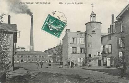 "CPA FRANCE 63 "" Bourdon, L'Usine""."