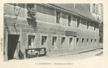"CPA FRANCE 63 "" La Bourboule, Etablissement Mabru""."