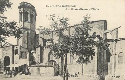 """CPA FRANCE 63 """" Chamalières, L'église'."""