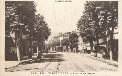 """CPA FRANCE 63 """" Chamalières, Avenue du Royat""""."""