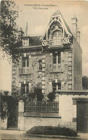 "CPA FRANCE 63 "" Chamalières, Villa Germaine""."