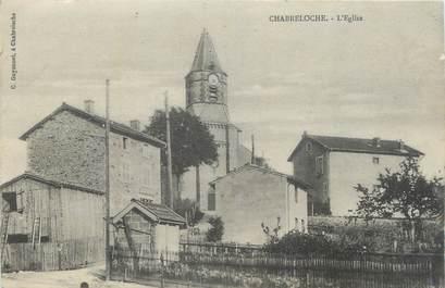 """CPA FRANCE 63 """"Chabreloche, L'église""""."""