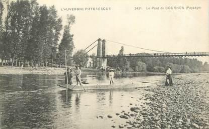 "CPA FRANCE 63 ""Cournon, Le pont""."
