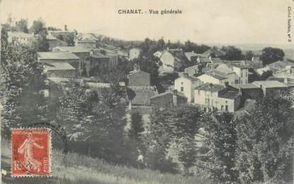 """CPA FRANCE 63 """" Chanat, Vue générale""""."""