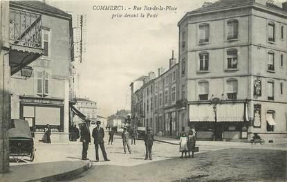 """CPA FRANCE 55 """"Commercy, Rue Bas de la Place"""""""