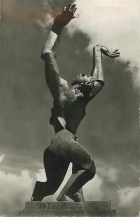 """CPSM PAYS BAS """"Rotterdam, monument de la ville détruite 1940"""""""