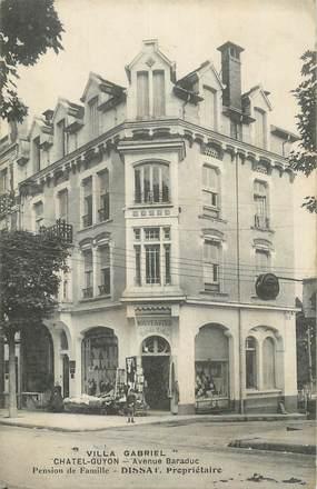 """CPA FRANCE 63 """" Châtel Guyon, Villa Gabriel avenue Baraduc""""."""