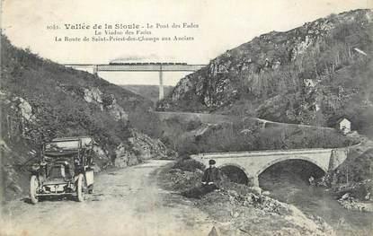 """CPA FRANCE 63 """" Les Fades, Le pont"""""""