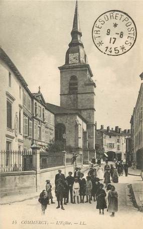 """CPA FRANCE 55 """"Commercy, L'Eglise"""""""