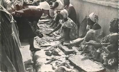 """CPSM SENEGAL """"Dakar, marchandes de poissons"""""""