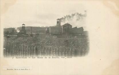 """CPA FRANCE 63 """" St Eloy, Le Mines de la Bouble"""". / MINES"""