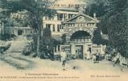 """63 Puy De DÔme CPA FRANCE 63 """" St Nectaire, Etablissement des bains du Mont Cornadore,, entrée du parc""""."""