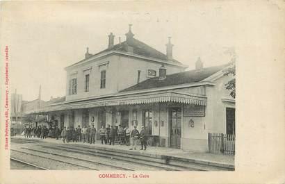 """CPA FRANCE 55 """"Commercy, La Gare"""""""