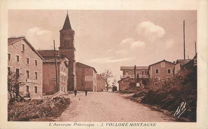 "CPA FRANCE 63 "" Vollore Montagne""."