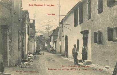 """CPA FRANCE 65 """" Asté, Intérieur du village""""."""