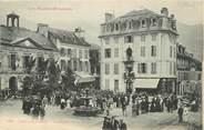 """65 Haute PyrÉnÉe CPA FRANCE 65 """" Argelès Gazost, La Mairie et la plage""""."""