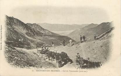 """CPA FRANCE 65 """"Bagnères de Bigorre, Col du Tourmalet""""."""