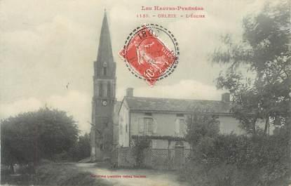 """CPA FRANCE 65 """" Orleix, L'église""""."""