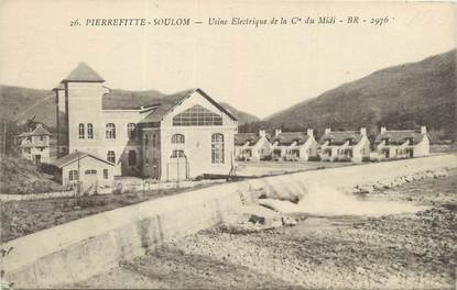 """CPA FRANCE 65 """"Pierrefitte Soulom, Usine électrique de la Compagnie du Midi""""."""