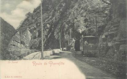 "CPA FRANCE 65 ""Route de Pierrefitte, Le tunnel""."