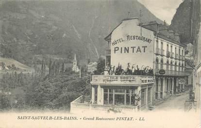 "CPA FRANCE 65 "" St Sauveur les Bains, Grand Restaurant Pintat""."