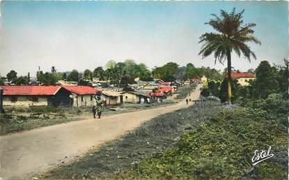 """CPSM COTE D'IVOIRE """"Abidjan, le village d'Adjamé"""""""