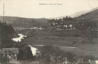 """CPA FRANCE 74 """"Morneix, Viaduc de Viaison""""."""