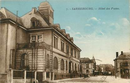 "CPA FRANCE 57 ""Sarrebourg, Hôtel des Postes"""