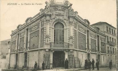 """CPA FRANCE 34 """"Béziers, le Théâtre des Variétés"""""""