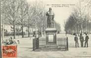 """24 Dordogne CPA FRANCE 24 """"Périgueux, statue de Fénelon sur les allées de Tourny"""""""
