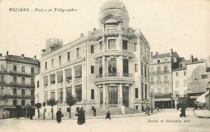 """CPA FRANCE 34 """"Béziers, Poste et Télégraphe"""""""