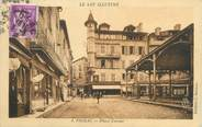 "46 Lot CPA FRANCE 46 "" Figéac, Place Carnot""."