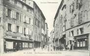 """46 Lot CPA FRANCE 46 """" Figéac, Rue Champollion et la Maison des Têtes""""."""
