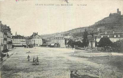 """CPA FRANCE 46 """" St Céré, Le Gravier""""."""