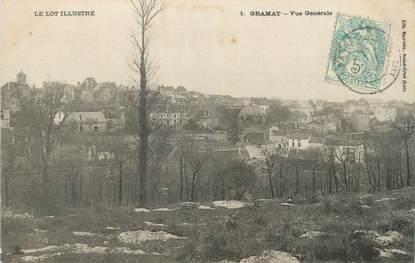 """CPA FRANCE 46 """" Gramat, Vue générale""""."""