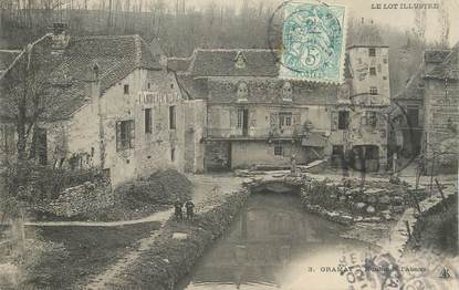 """CPA FRANCE 46 """" Gramat, Moulin de l'Abzou""""."""