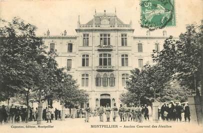 """CPA FRANCE 34 """"Montpellier, ancien couvent des Jésuites"""""""