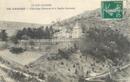 """CPA FRANCE 46 """" Cahors, L'Ermitage""""."""