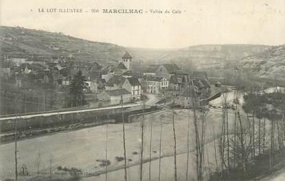 """CPA FRANCE 46 """" Marcilhac, Vallée du Célé""""."""