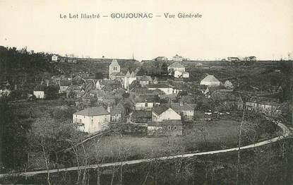 "CPA FRANCE 46 "" Goujounac, Vue générale""."