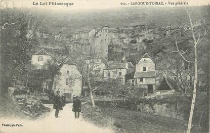 "CPA FRANCE 46 ""Laroque Toirac, Vue générale""."